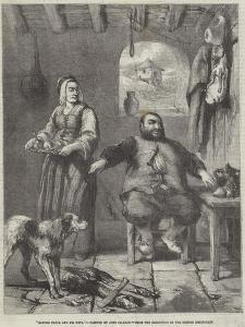 Sancho Panza and His Wife by Sir John Gilbert