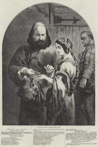 Shylock and Jessica by Sir John Gilbert