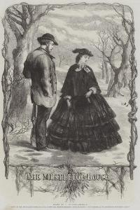 The Mistletoe Bough by Sir John Gilbert