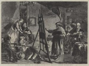 The Studio of Rembrandt by Sir John Gilbert