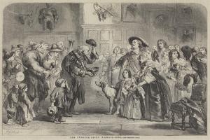 The Twelfth-Night Wassail-Bowl by Sir John Gilbert