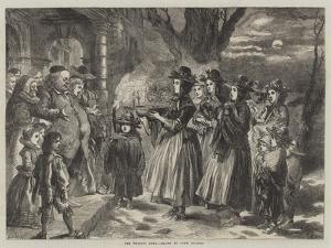 The Wassail Bowl by Sir John Gilbert