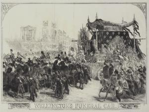 Wellington's Funeral Car by Sir John Gilbert