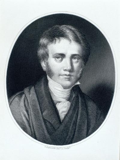 Sir John Herschel, Astronomer and Scientist, 1810S-Gaspare Gabrielli-Giclee Print
