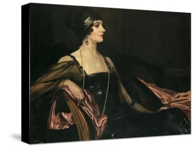 A Lady in Black: Portrait of Jean Ainsworth, Viscountess Massereene and Ferrard, 1917