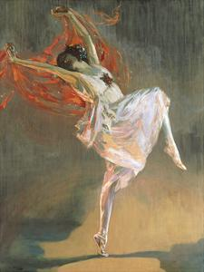 Anna Pavlova by Sir John Lavery