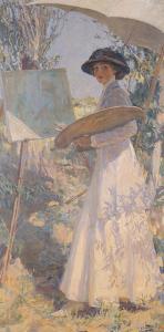 Lady Lavery by Sir John Lavery