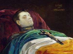 Michael Collins (Love of Ireland), 1922 by Sir John Lavery
