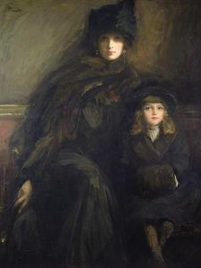Mother and Child, 1909 by Sir John Lavery