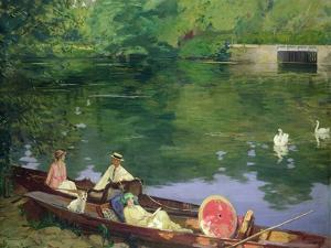 Sutton Courtenay, 1917 by Sir John Lavery