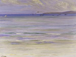Tangier Bay by Sir John Lavery