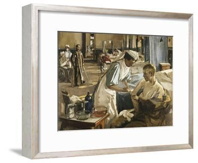 The First Wounded, London Hospital, 1914, 1914