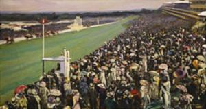 The Gold Cup Ascot, The Royal Enclosure, 1922 by Sir John Lavery