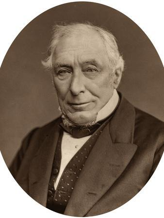 Sir John Mellor, Judge of the High Court of Justice, 1880-Lock & Whitfield-Photographic Print