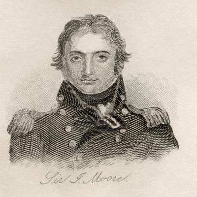 Sir John Moore, from 'Crabb's Historical Dictionary', Published 1825--Giclee Print