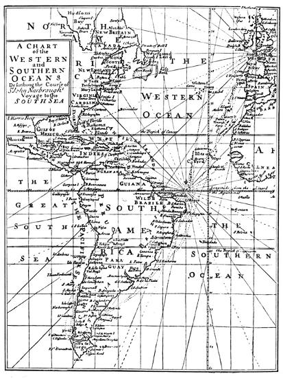 'Sir John Narbrough's Voyage', c1670, (1903)-Unknown-Giclee Print