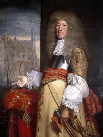 Sir John Robinson, Lord Mayor 1662-John Michael Wright-Giclee Print