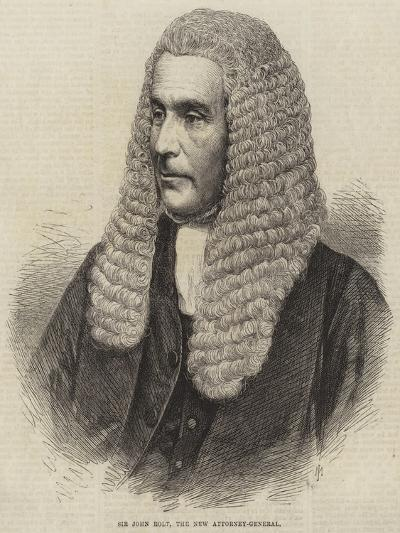 Sir John Rolt, the New Attorney-General--Giclee Print