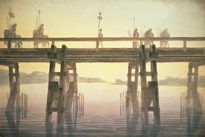 Il Ponte Di Cesare, 1814 by Sir John Soane