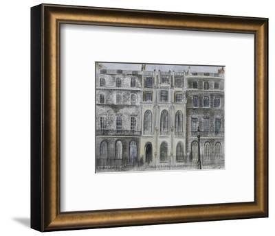 Sir John Soane's Museum, 2010-Sophia Elliot-Framed Giclee Print