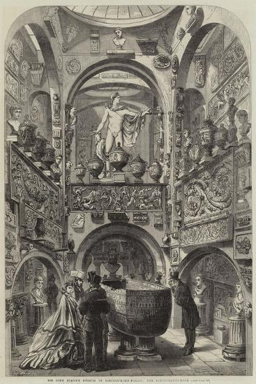 Sir John Soane's Museum in Lincoln'S-Inn-Fields, the Sarcophagus-Room--Giclee Print