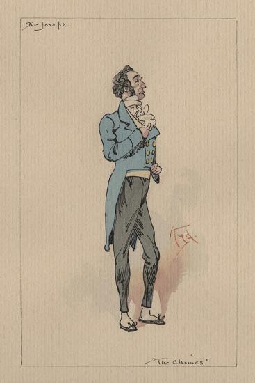 Sir Joseph Bowley - the Chimes, C.1920s-Joseph Clayton Clarke-Giclee Print