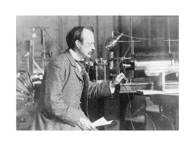 Sir Joseph John Thomson, Physicist and Inventor, 1900--Giclee Print