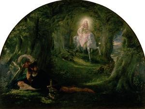 La Belle Dame Sans Merci (The Story of Thomas Rhymer) by Sir Joseph Noel Paton