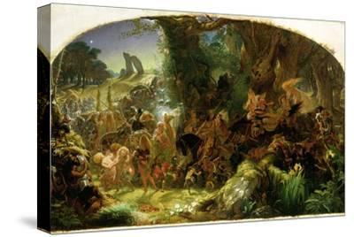 The Fairy Raid: Carrying Off a Changeling - Midsummer Eve, 1867