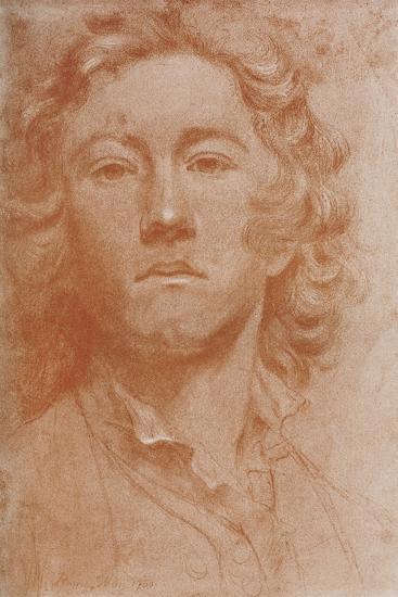 Sir Joshua Reynolds, 1750-John Astley-Giclee Print