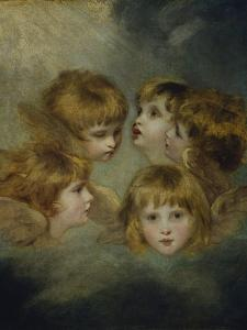 A Child's Portrait in Different Views: 'Angel's Heads' by Sir Joshua Reynolds