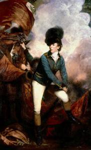 Colonel Banastre Tarleton by Sir Joshua Reynolds
