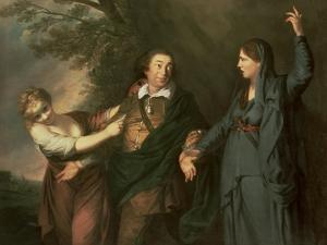 David Garrick by Sir Joshua Reynolds