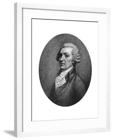 Sir Joshua Reynolds, English Painter, Late 18th Century-John Conde-Framed Giclee Print