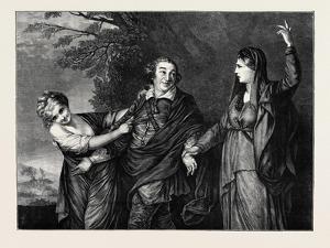 Garrick Between Tragedy and Comedy by Sir Joshua Reynolds