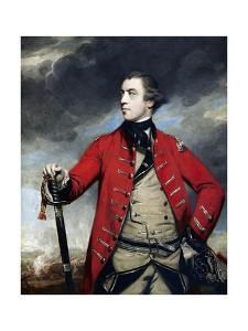 General John Burgoyne by Sir Joshua Reynolds