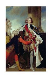 George IV When Prince of Wales with a Negro Page, 1787 by Sir Joshua Reynolds