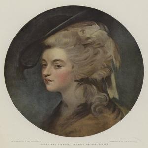 Georgiana Spencer, Duchess of Devonshire by Sir Joshua Reynolds