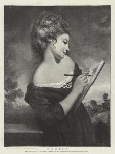 Girl Sketching by Sir Joshua Reynolds