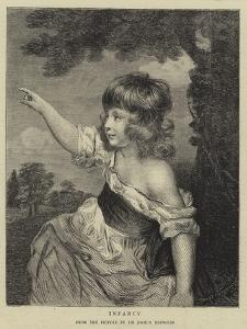 Infancy by Sir Joshua Reynolds