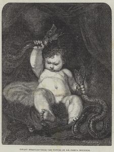 Infant Hercules by Sir Joshua Reynolds