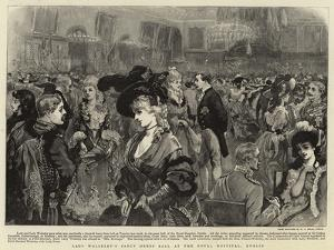 Lady Wolseley's Fancy Dress Ball at the Royal Hospital, Dublin by Sir Joshua Reynolds