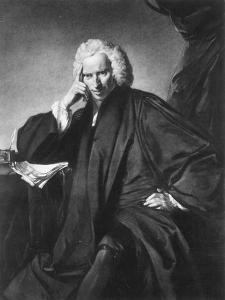 Laurence Sterne, Engraved by Edward Fisher by Sir Joshua Reynolds
