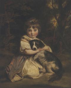 Miss Jane Bowles by Sir Joshua Reynolds