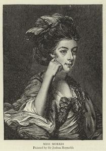 Miss Morris by Sir Joshua Reynolds
