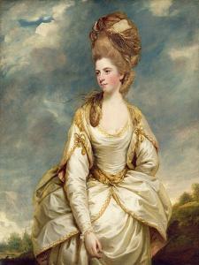 Miss Sarah Campbell, 1777-78 by Sir Joshua Reynolds
