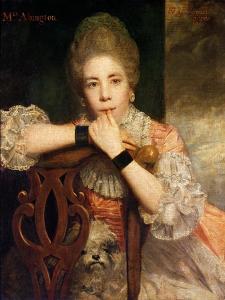 Mrs. Abington, 1771 by Sir Joshua Reynolds