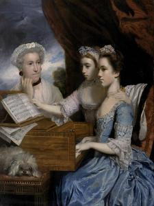 Mrs Paine and the Misses Paine, 1765 by Sir Joshua Reynolds