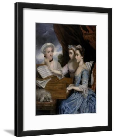 Mrs Paine and the Misses Paine, 1765