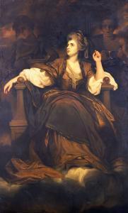 "Mrs. Siddons as ""The Tragic Muse"" by Sir Joshua Reynolds"